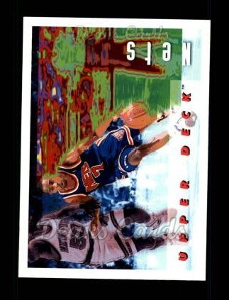 1992 Upper Deck #366   -  Kenny Anderson Team Fact Card