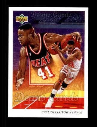 1992 Upper Deck #42   -  Glen Rice Heat Team
