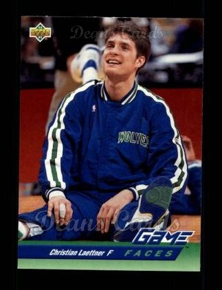 1992 Upper Deck #494   -  Christian Laettner Game Faces