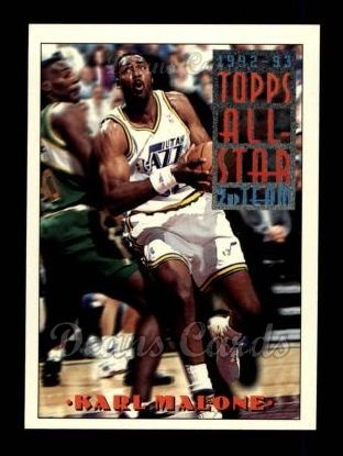 1993 Topps #119   -  Karl Malone All-Star