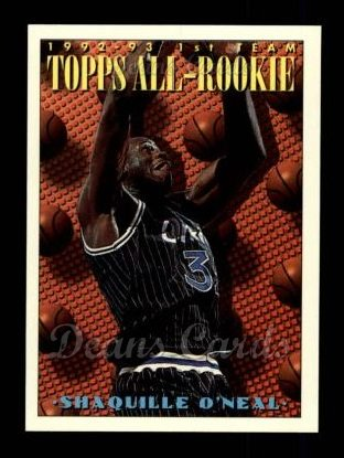 1993 Topps #152   -  Shaquille O'Neal All-Rookie Team