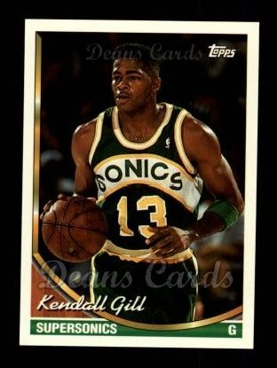 1993 Topps #221  Kendall Gill