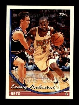 1993 Topps #222  Kenny Anderson