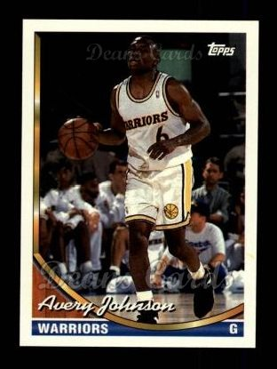 1993 Topps #251  Avery Johnson