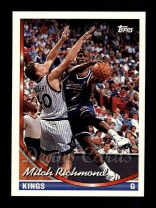 1993 Topps #280  Mitch Richmond