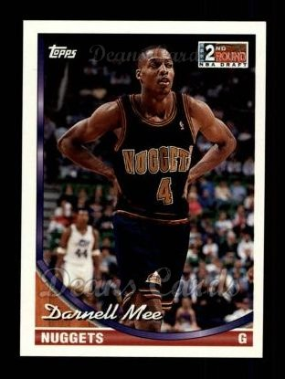 1993 Topps #315  Darnell Mee