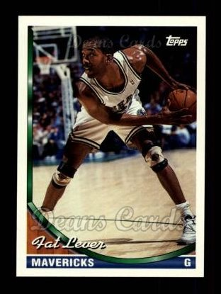 1993 Topps #327  Fat Lever