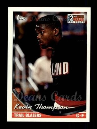 1993 Topps #380  Kevin Thompson