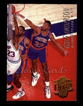 1994 Fleer Ultra #55  Greg Anderson