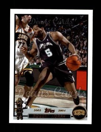 2003 Topps #122  Robert Horry