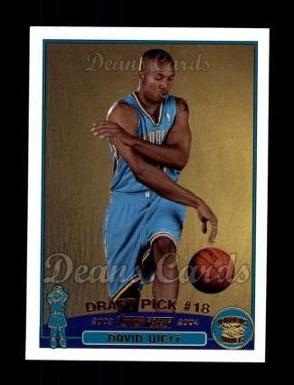 2003 Topps #238  David West
