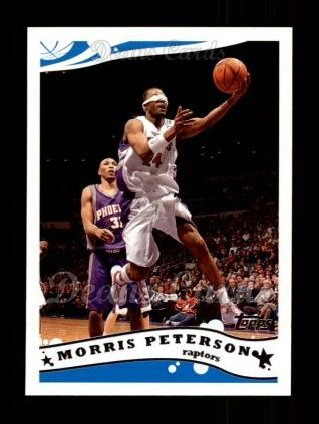 2005 Topps #204  Morris Peterson