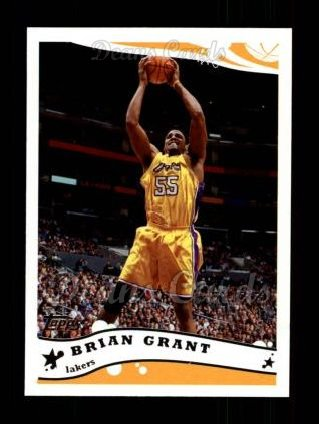 2005 Topps #209  Brian Grant