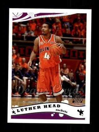 2005 Topps #244  Luther Head