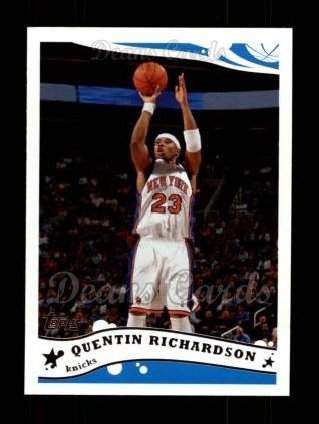2005 Topps #3  Quentin Richardson