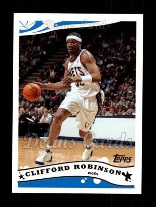 2005 Topps #94  Clifford Robinson