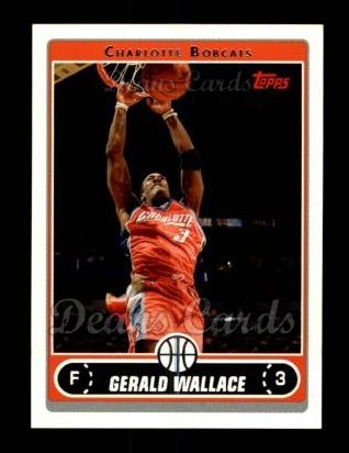 2006 Topps #10  Gerald Wallace