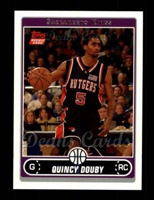 2006 Topps #247  Quincy Douby