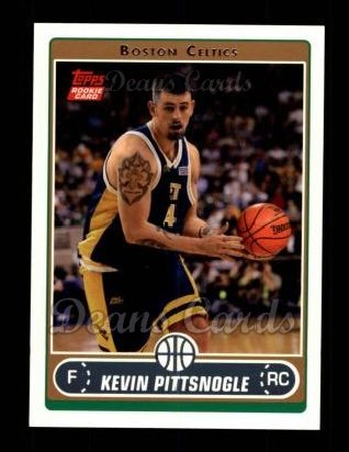 2006 Topps #264  Kevin Pittsnogle