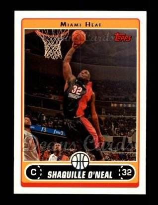 2006 Topps #32  Shaquille O'Neal