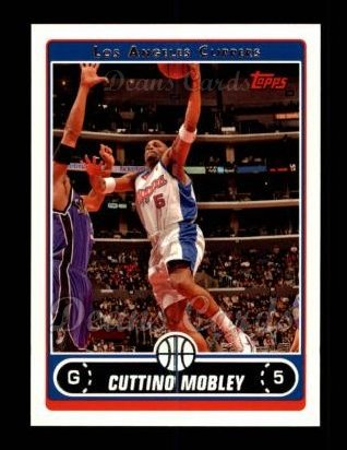 2006 Topps #39  Cuttino Mobley