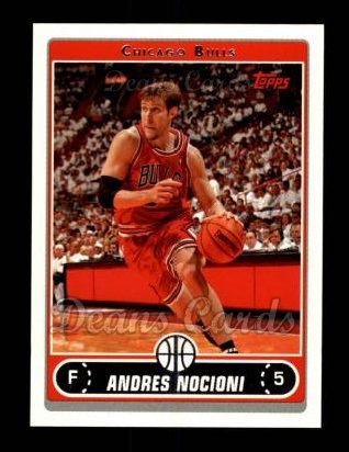 2006 Topps #7  Andres Nocioni