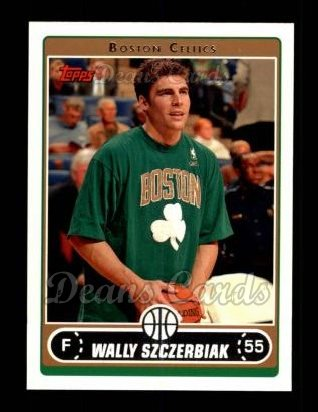 2006 Topps #93  Wally Szczerbiak