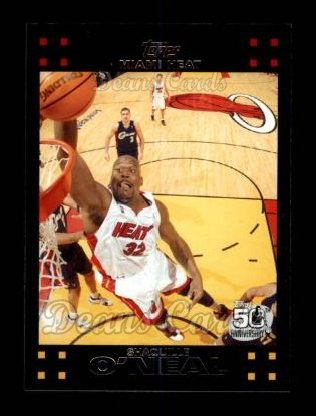 2007 Topps #32  Shaquille O'Neal