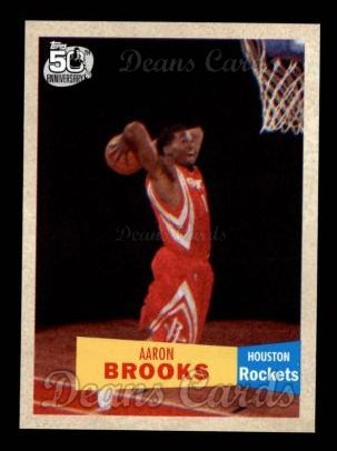 2007 Topps 1957-58 Variation #135  Aaron Brooks