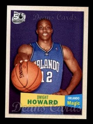 2007 Topps 1957-58 Variation #14  Dwight Howard