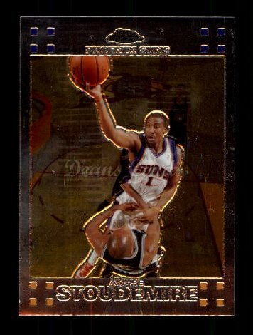 2007 Topps Chrome #1  Amare Stoudemire
