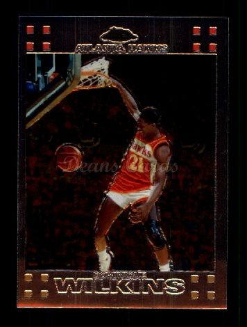 2007 Topps Chrome #94  Dominique Wilkins