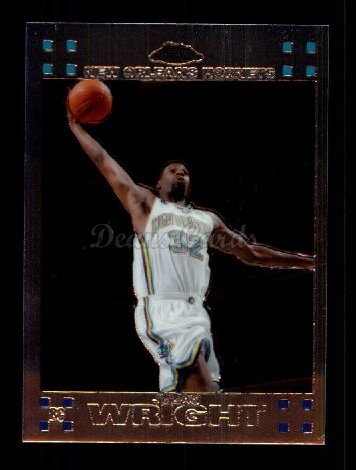2007 Topps Chrome #113  Julian Wright
