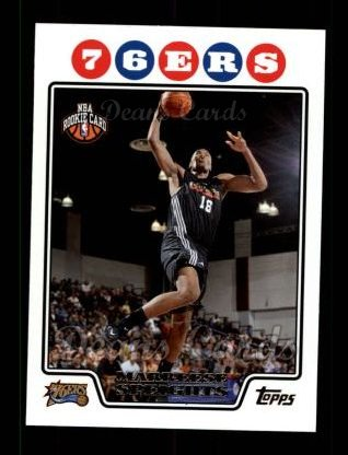 2008 Topps #211  Marreese Speights
