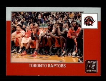 2010 Donruss #267   Raptors Team