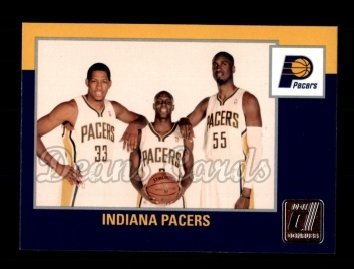 2010 Donruss #271   Pacers Team