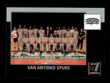 2010 Donruss #282   Spurs Team