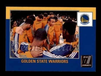 2010 Donruss #288   Warriors Team