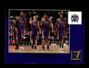 2010 Donruss #292   Kings Team