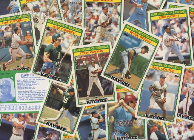 1988 Kay Bee     Superstars of Baseball Complete Set