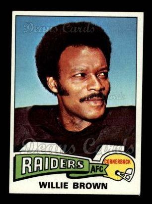 1975 Topps #95  Willie Brown