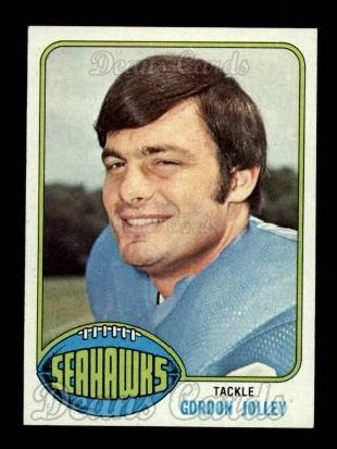 1976 Topps #242  Gordon Jolley