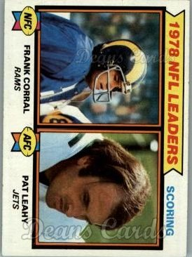 1979 Topps #4   -  Frank Corral / Pat Leahy Scoring Leaders