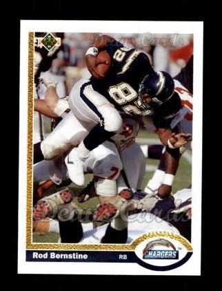1991 Upper Deck #118  Rod Bernstine