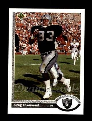 1991 Upper Deck #151  Greg Townsend