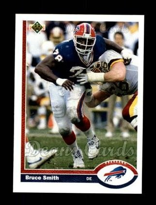 1991 Upper Deck #174  Bruce Smith