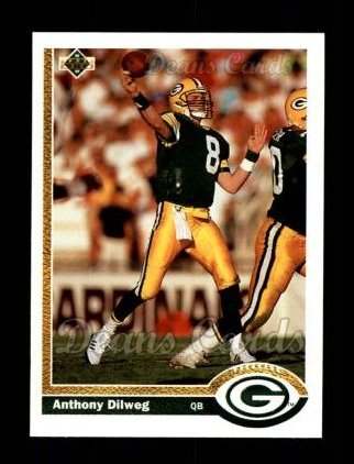1991 Upper Deck #214  Anthony Dilweg