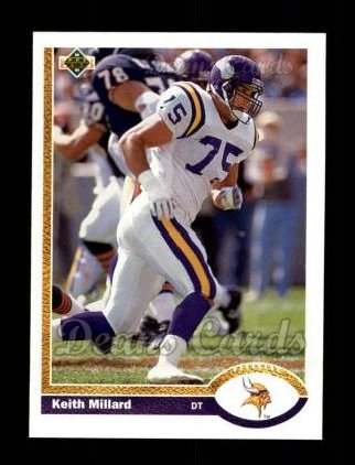 1991 Upper Deck #240  Keith Millard