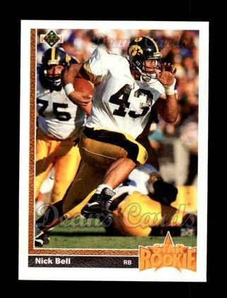 1991 Upper Deck #29  Nick Bell