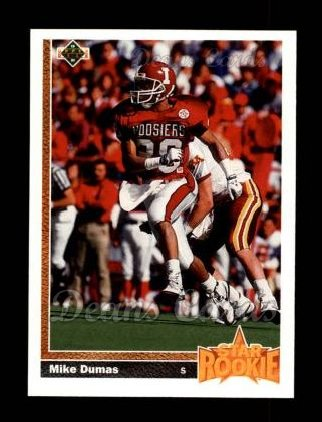 1991 Upper Deck #3  Mike Dumas